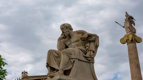 Estatua clásica del filósofo de Sócrates