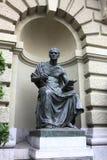 Estatua clásica en Berna Foto de archivo libre de regalías