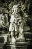 Estatua concreta Fotos de archivo