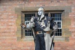 Estatua congelada del hombre Foto de archivo libre de regalías