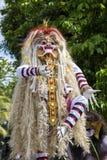 Estatua construida para el desfile de Ngrupuk, que de Ogoh-ogoh ocurre en incluso del día de Nyepi en la isla de Bali, Indonesia Imagen de archivo libre de regalías