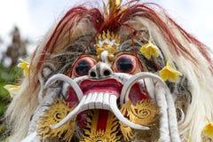 Estatua construida para el desfile de Ngrupuk, que de Ogoh-ogoh ocurre en incluso del día de Nyepi en la isla de Bali, Indonesia Fotos de archivo libres de regalías