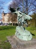 Estatua Copenhague Dinamarca foto de archivo
