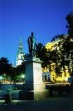 Estatua cuadrada de Londres Trafalgar imágenes de archivo libres de regalías