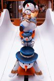 estatua cuadrada 1881 del muñeco de nieve de la herencia Fotografía de archivo libre de regalías