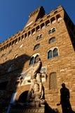 Estatua David Michelangelo, Palazzo Vecchio, Florencia, Italia imagen de archivo libre de regalías