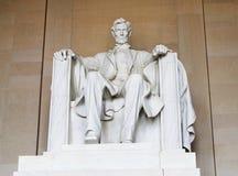Estatua de Abraham Lincoln Imagenes de archivo