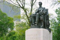 Estatua de Abraham Lincoln Imagen de archivo libre de regalías