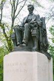 Estatua de Abraham Lincoln Fotos de archivo