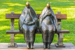 Estatua de abuelas Imagen de archivo libre de regalías