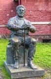 Estatua de Alejandro dumas con el palillo Fotos de archivo libres de regalías