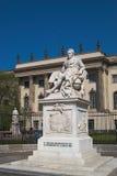 Estatua de Alexander von Humboldt fotos de archivo libres de regalías