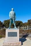 Estatua de almirante Comte de Grasse Imagenes de archivo