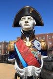Estatua de almirante Lord Nelson Imagenes de archivo