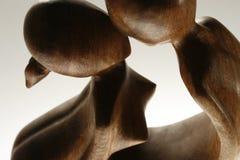 Estatua de amantes imágenes de archivo libres de regalías