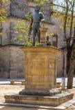 Estatua de Andres de Vandelvira Imagen de archivo
