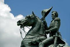 Estatua de Andrew Jackson Imágenes de archivo libres de regalías