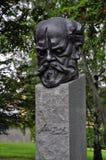 Estatua de Antonin Dvorak Imagenes de archivo