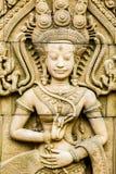 Estatua de Apsara, chiangmai Tailandia Imágenes de archivo libres de regalías