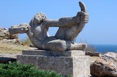 Estatua de Archer Imágenes de archivo libres de regalías