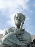 Estatua de Aristóteles Fotos de archivo libres de regalías