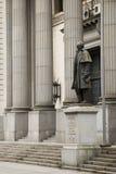 Estatua de Artigas, Montevideo foto de archivo