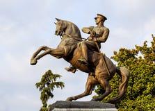 Estatua de Ataturk - vista lateral Imagen de archivo libre de regalías