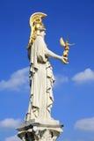Estatua de Athena Fotos de archivo libres de regalías
