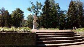 Estatua de athena Imágenes de archivo libres de regalías