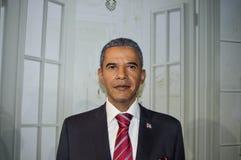 Estatua de Barack Obama en el museo de Grévin en Montréal fotografía de archivo