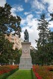 Estatua de Bartolome Esteban Murillo imagenes de archivo