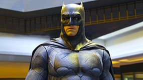 Estatua de Batman imagenes de archivo