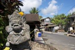 Estatua de Bedogol Dwarapala del Balinese imagen de archivo libre de regalías