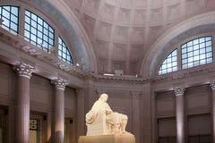 Estatua de Ben franklin Imagen de archivo