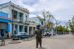 Estatua de Benny More en Cienfuegos, Cuba Imágenes de archivo libres de regalías