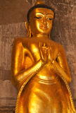 Estatua de Bhudda, Bagan, Myanmar Foto de archivo