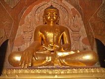 Estatua de Bhudda, Bagan, Myanmar Imágenes de archivo libres de regalías