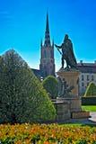 Estatua de Birger Jarl Fotografía de archivo