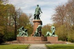 Estatua de Bismarck Fotografía de archivo libre de regalías