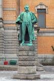 Estatua de Bjornstjerne Bjornson en Oslo, Noruega Imagen de archivo libre de regalías