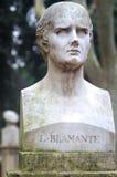 Estatua de Bramante Fotografía de archivo libre de regalías