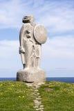 Estatua de Breogan Fotografía de archivo