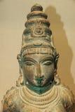 Estatua de bronce antigua de la India Fotos de archivo libres de regalías