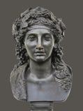 Estatua de bronce de Dionysus foto de archivo
