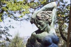 La estatua de bronce de la mujer (Florencia) Fotografía de archivo