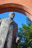 Estatua de bronce de Lenin Fotos de archivo libres de regalías
