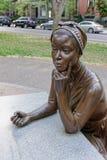 Estatua de bronce de Phillis Wheatley fotografía de archivo libre de regalías