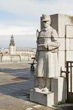 Estatua de Bruselas Imágenes de archivo libres de regalías