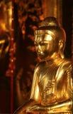 Estatua de Bubbha en Birmania Imagen de archivo libre de regalías