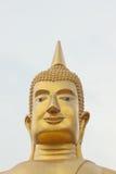 Estatua de Buda de la cara seria Fotografía de archivo libre de regalías